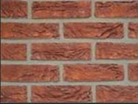 Klinker rusztikus külső téglaszelet vöröses